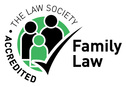 accredited family law logo